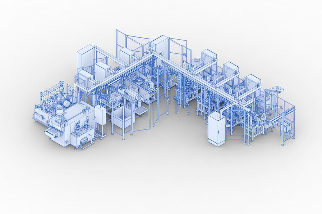 Líneas fabricación tubo columna dirección / airbag