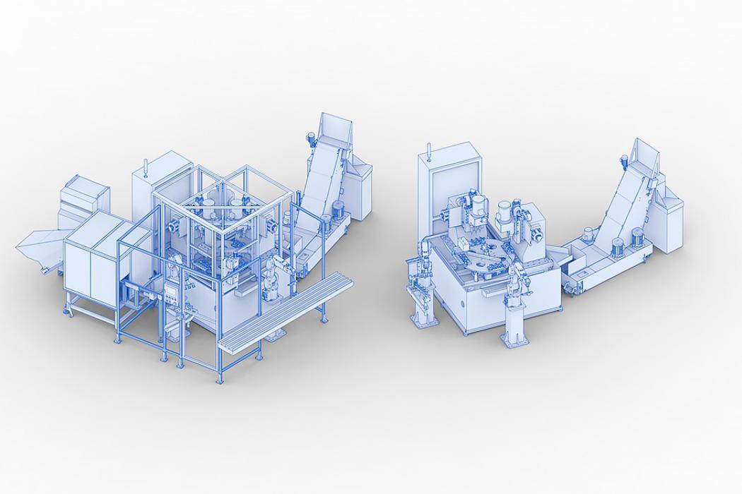 Transferes rotativos mecanizado / rectificado