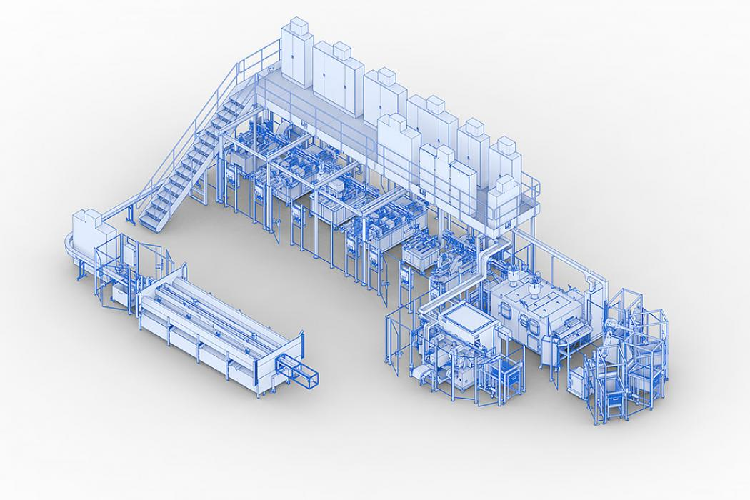 Tube manufacturing lines